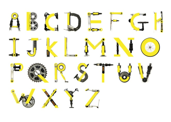 Bike Typeface by Toormix