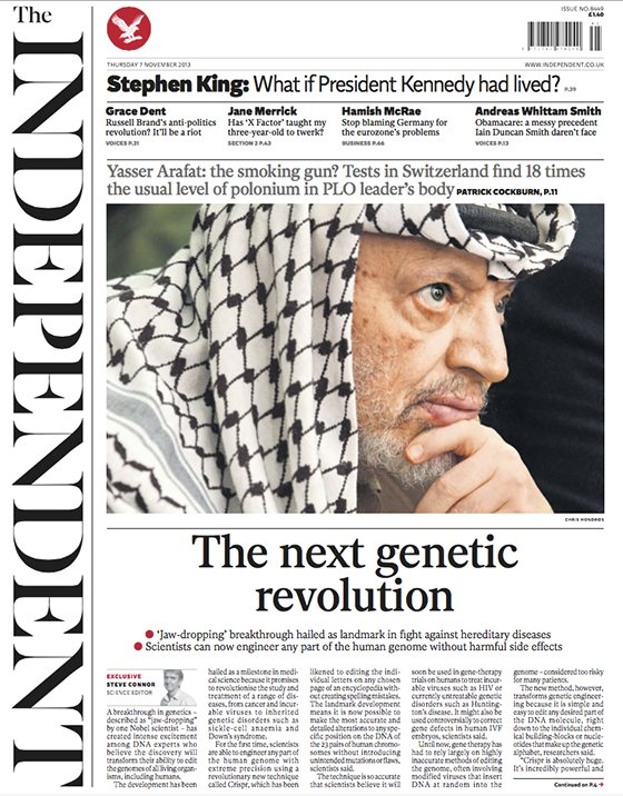 Rediseño Periódico 'The Independent'